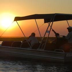 Bootstrip auf dem Chobe Fluss