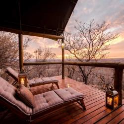 Bushwa Lodge Terasse