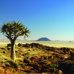 Die Aus Berge in Namibia