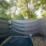 Botswana Safari - Busch Badezimmer