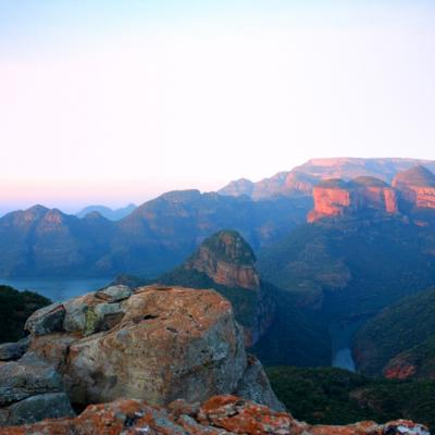 "Die ""Drei Rondavels"" am Blyde River Canyon"