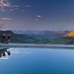 Pool mit Aussicht - Selbstfahrer Lodge Rundreise durch Namibia