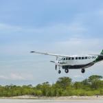 Rundflüge über dem Okavango Delta