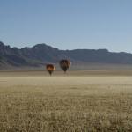 Morgenstimmung über der Namib Wüste