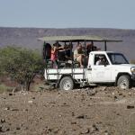 Safarifahrt in der Palmwag Concession
