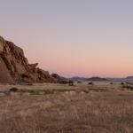 Abendstimmung über der Namib Wüste
