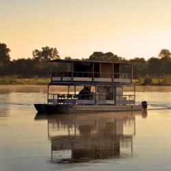 Bootstour auf dem Okavango Fluss