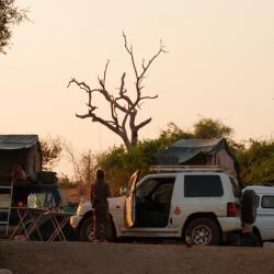 Campsite Ihaha © Kalahari Calling