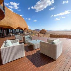 Aufenthaltsbereich Desert Hills Lodge, Sossusvlei Namibia