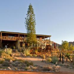 Hauptgebäude des Desert Horse Inn