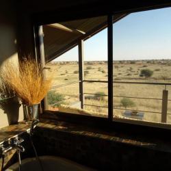 Bagatelle Dune Chalet - Aussicht aus dem Badezimmer