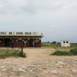 Letzter Stopp vor dem Khutse Reserve