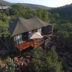 Zeltunterkunft Inzalo Safari Lodge