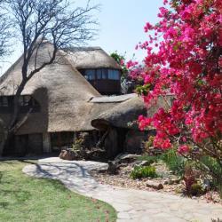 Lodge in der Kalahari