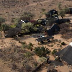 Luftaufnahme Kalahari Bush Breaks