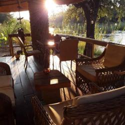 Abendstimmung auf der Mobola Lodge