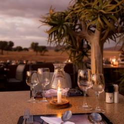 Outdoor Dining Sossusvlei Lodge