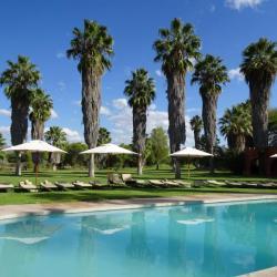 Pool im Garten der Mount Etjo Lodge
