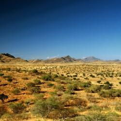 Rooisand Desert Lodge Blick vom Selbstversorgerhaus