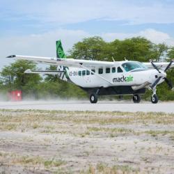 Rundflug über dem Okavango Delta mit Mack Air