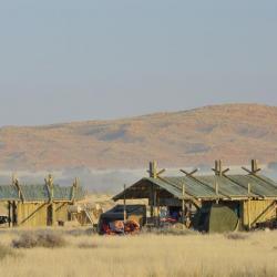 Ausblick von der Sossus Oasis Campsite