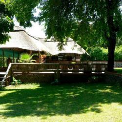 Garten der Water Lily Lodge