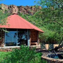 Waterberg Plateau Lodge - Bungalow mit Plunge Pool