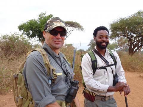 Zane und Ezaya - Game Rangers im Pafuri Return Africa Camp