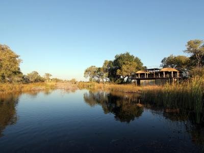 Nkasa Lupala Tented Lodge im gleichnamigen NP im Caprivi (Zambesi)